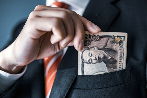 الين الياباني يزداد قوة مع استمرار معدلات كره المخاطر